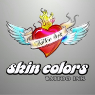 Skin Colors Tattoo Ink