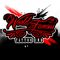 World Famous Tattoo Ink 120/240 ml.