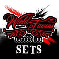 World Famous Tattoo Ink Sets.